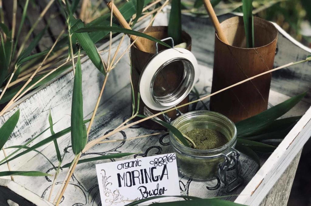 Morning moringa powder
