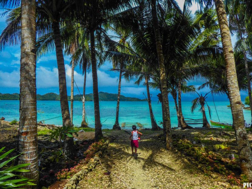 Philippines turquoise beach